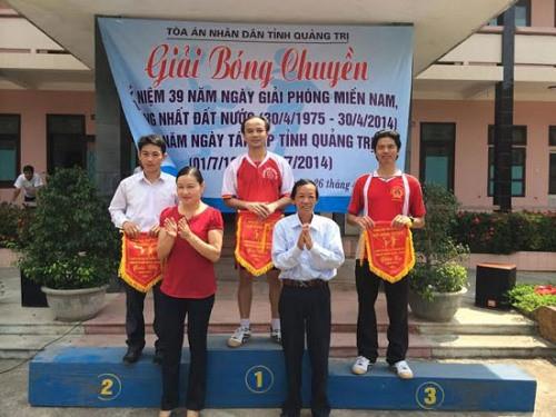 TAND tỉnh Quảng Trị tổ chức Hội thao chào mừng ngày lễ 30/4 – 1/5