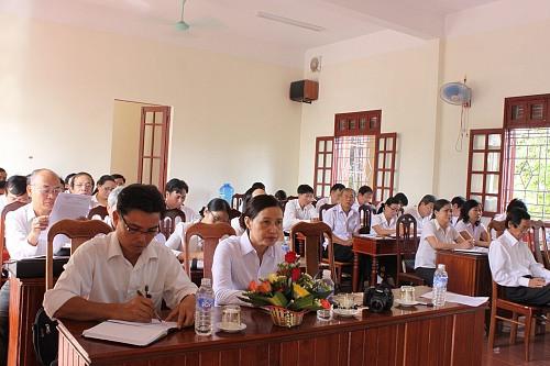 TAND tỉnh Quảng Trị tổ chức
