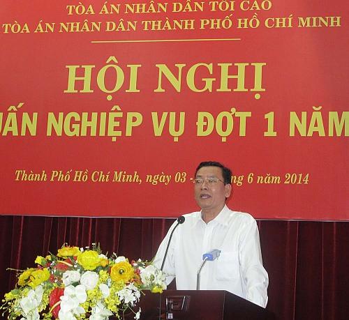 TAND Tp. Hồ Chí Minh: Tập huấn nghiệp vụ xét xử