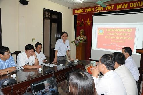 Ra mắt Cổng thông tin điện tử TAND tỉnh Bắc Ninh phiên bản mới