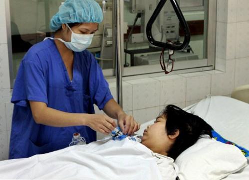 Một bệnh nhân được cứu sống sau ca ghép tim