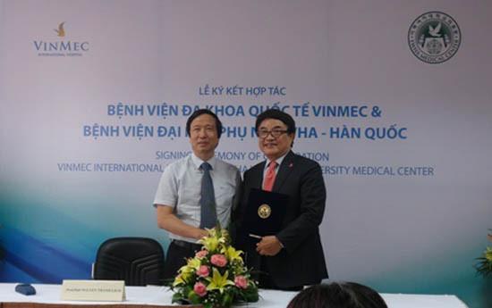 Vinmec tiếp nhận các phương pháp chữa ung thư hiện đại nhất từ Hàn Quốc