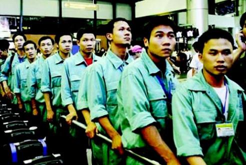10 tháng đầu năm 2014: Hơn 91.000 lao động Việt đi làm việc ở nước ngoài