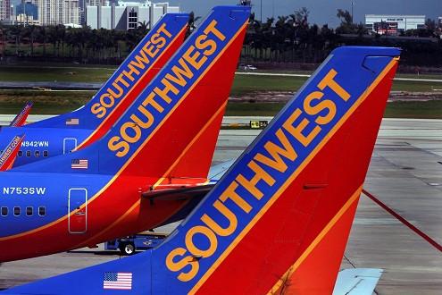 Em bé được sinh ra trên máy bay của hãng hàng không Southwest