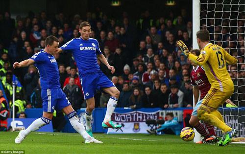 Chelsea chiến thắng trên đôi chân cuả Diego Costa