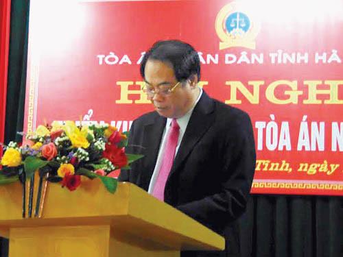 TAND hai cấp tỉnh Hà Tĩnh: Nỗ lực hoàn thành tốt nhiệm vụ