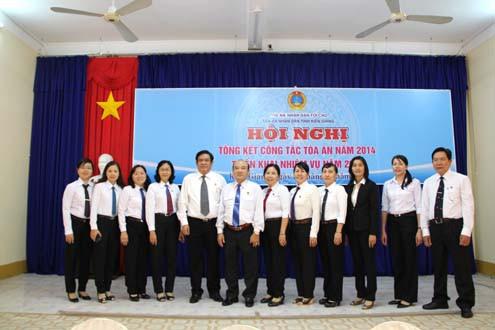 TAND hai cấp tỉnh Kiên Giang: Nhiều chuyển biến tích cực