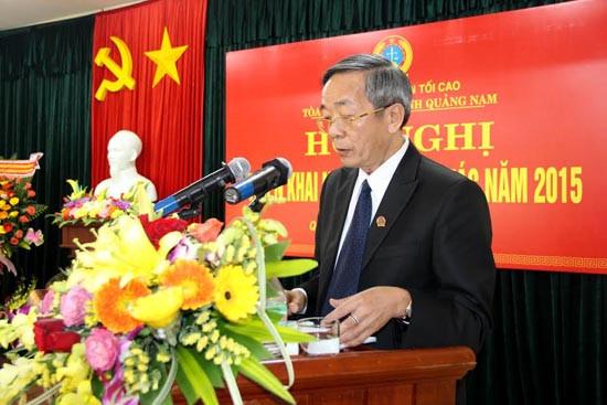 TAND hai cấp tỉnh Quảng Nam: Nâng cao chất lượng giải quyết án, hoàn thành tốt nhiệm vụ