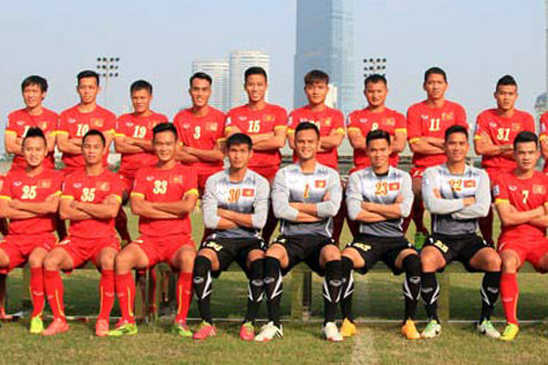 ĐT Việt Nam tăng một bậc trên BXH FIFA tháng 2/2015