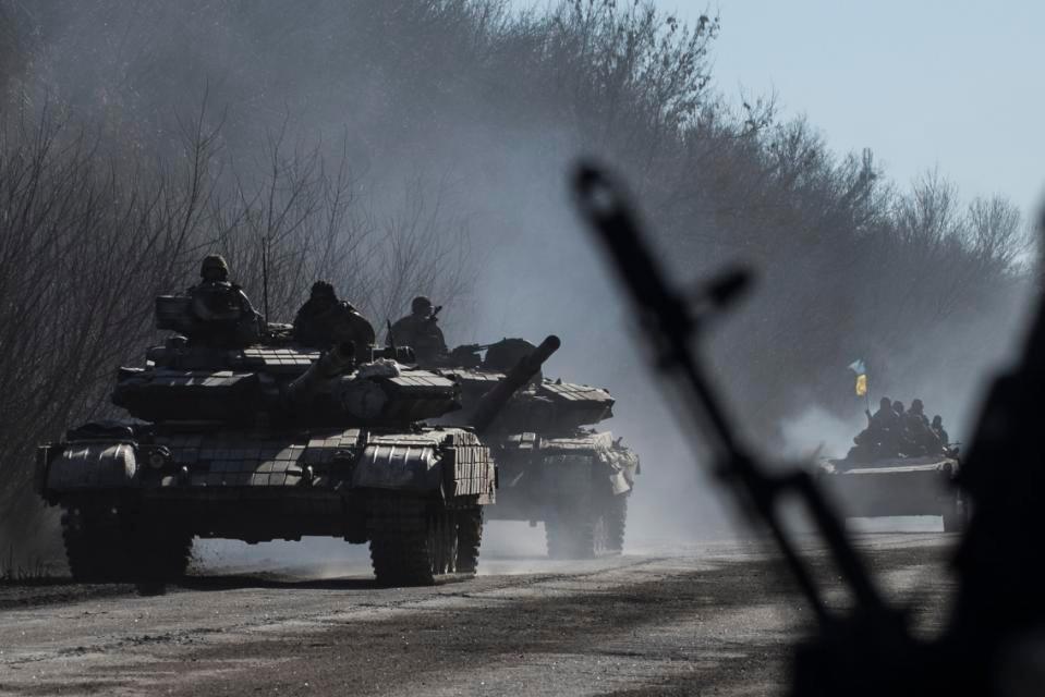 Bom chùm được sử dụng trong xung đột Ukraine