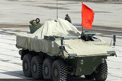 Nga lần đầu tiên công bố hình ảnh của xe tăng chiến đấu chủ lực Armata T-14