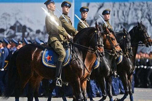 Lễ diễu binh lớn chưa từng có tại Quảng trường Đỏ