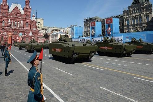 14 giờ chiều nay: Lễ diễu hành kỷ niệm 70 năm chiến thắng chủ nghĩa Phát xít lớn nhất tại Nga