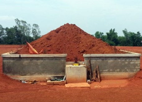 Thanh Hóa: Phát hiện mộ cổ khi san lấp mặt bằng