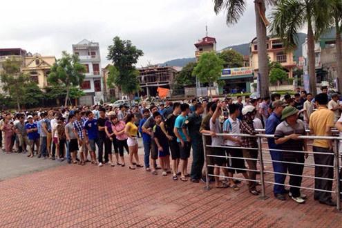 U23 Việt Nam và cơn sốt vé tại Cẩm Phả