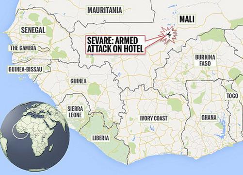 Kết thúc chiến dịch giải cứu con tin ở Mali, 12 người thiệt mạng