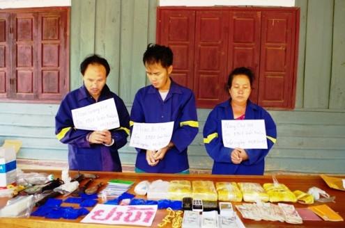 Bắt 2 vụ ma túy lớn trên tuyến biên giới Việt- Lào