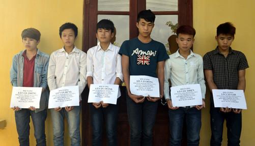 Bắt khẩn cấp nhóm đối tượng trộm cắp là học sinh trung học