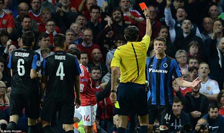 Manchester United hạ Club Brugge 3-1: Depay tỏa sáng