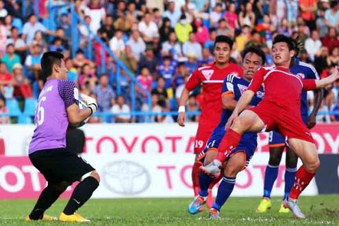 Hậu vệ Nguyễn Văn Nam của Hải Phòng bị đình chỉ thi đấu 5 trận
