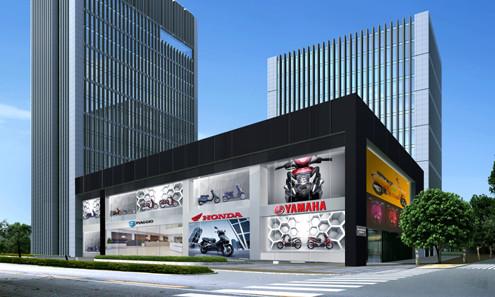 Techcombank tài trợ đại lý kinh doanh xe gắn máy
