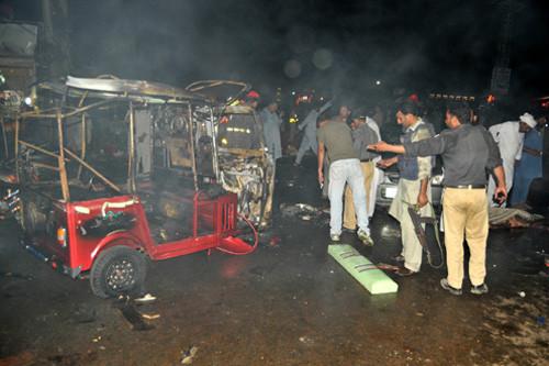 Pakistan: Nổ bom làm hơn 50 người thương vong