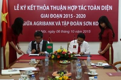 Bước tiến mới trong quan hệ hợp tác giữa Agribank và Tập đoàn sơn Kova
