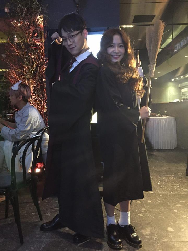 SNSD cùng dàn sao nhà SM tổ chức Halloween sớm