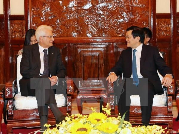 Tin tức thời sự ngày 6/11: Chủ tịch nước Trương Tấn Sang hội đàm với Tổng thống Italy