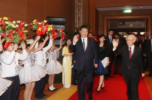 Cùng nhau vun đắp cho tình hữu nghị Trung - Việt
