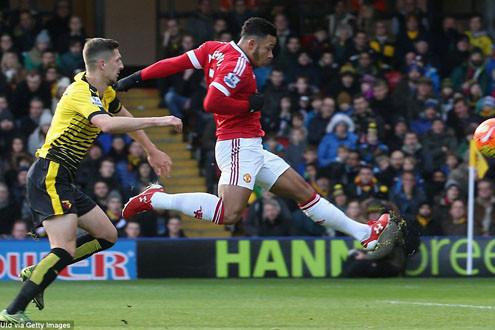 Cận cảnh M.U thắng nghẹt thở trước Watford