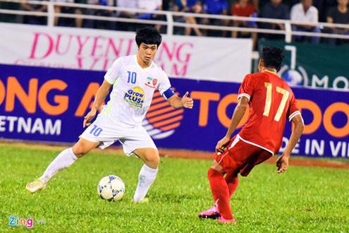 Thắng U21 Myanmar, U21 HAGL gặp U21 VN ở bán kết
