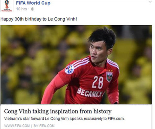 Tin tức thể thao 10/12: Công Vinh nhận quà đặc biệt ở lần sinh nhật thứ 30
