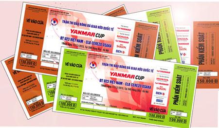 Sắp bán vé xem trận U23 Việt Nam - CLB Cerezo Osaka