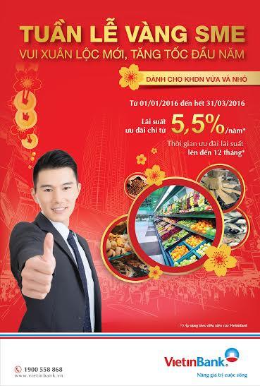 """Tuần lễ vàng SME"" cùng Vietinbank"