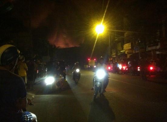 Hỏa hoạn tại 3 căn nhà ở thành phố Buôn Ma Thuột
