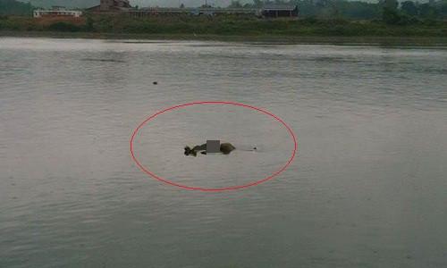 Phát hiện thi thể người đàn ông trôi trên sông Đà