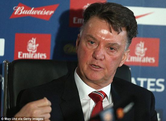 Van Gaal tuyên bố chiến đấu để ở lại M.U