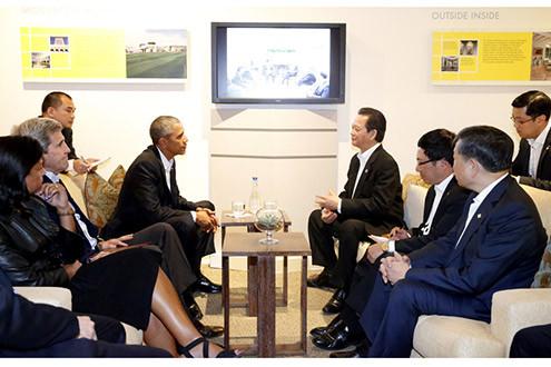 Thủ tướng Nguyễn Tấn Dũng hội kiến Tổng thống Barack Obama