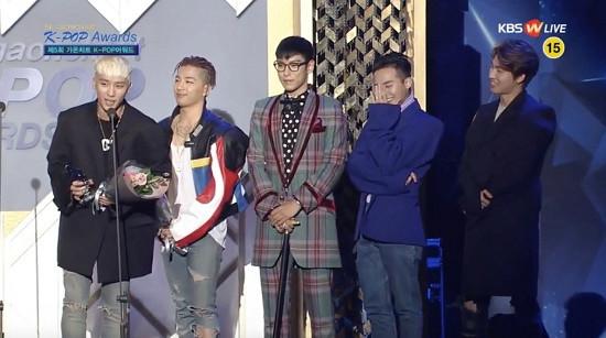 """Big Bang nhận """"cơn mưa"""" giải thưởng tại Gaon Chart K-pop"""