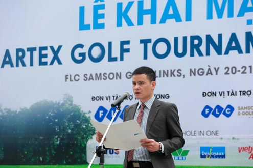 Khai mạc giải Artex Golf Tournament 2016: Thắt chặt tình bằng hữu!