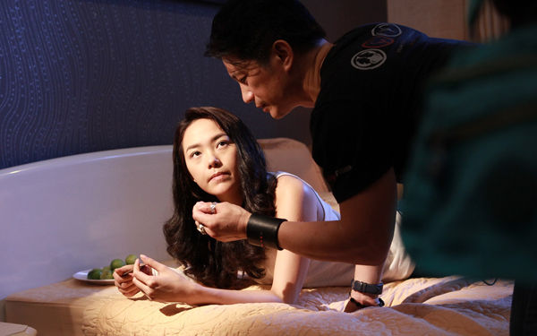 Hé lộ cảnh nóng của Minh Hằng, Quý Bình trong phim