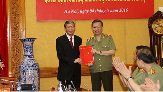 Thượng tướng Tô Lâm giữ chức Bí thư Đảng ủy Công an Trung ương