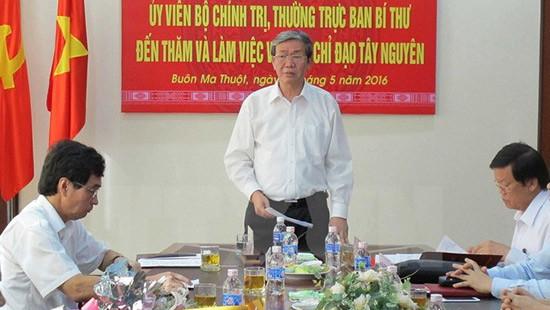 Ông Đinh Thế Huynh: Đắk Lắk cần tập trung sản xuất, bảo đảm đời sống đồng bào dân tộc
