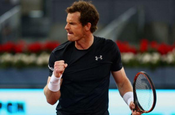 Andy Murray thắng dễ dàng thẳng đường vào tứ kết Roland Garros