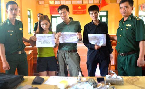 Biên phòng Hà Tĩnh bắt giữ 3 đối tượng, thu lượng lớn chất ma túy