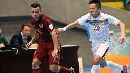 Futsal World Cup 2016: Việt Nam dừng bước tại vòng 16 đội