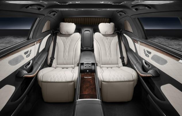 Mercedes ra mắt siêu xe chống đạn dành cho giới tài phiệt