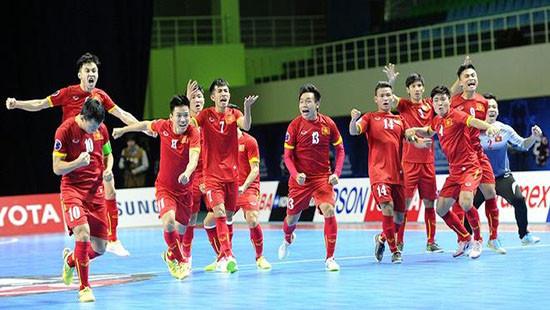 Đội tuyển Futsal Việt Nam đoạt giải phong cách