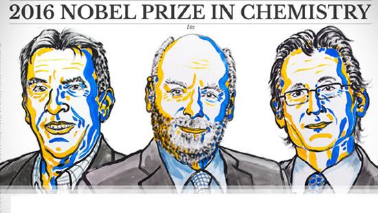 Công bố giải Nobel Hóa học năm 2016